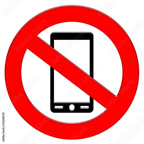 Divieto smartphone/cellulare