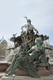 Neptune Fountain in Berlin