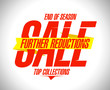 Further reductions sale design template