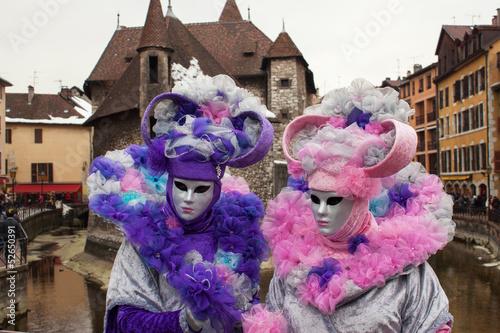 Papiers peints Carnaval Masque vénitien à Annecy