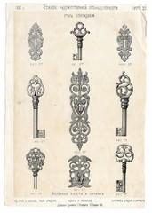 Renaissance style forging (locks and keys)