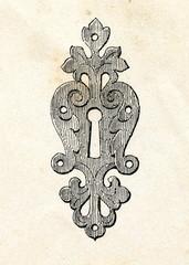 Renaissance style lock (17. century)