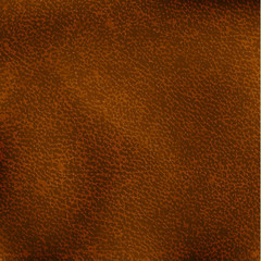 Aged brown leather texture - eps10