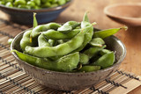 Green Organic Edamame with sea salt