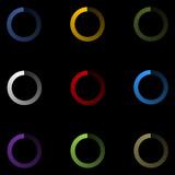 Images de chargement - pack no2 - noir