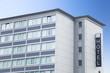Hotel - Gebäude mit Schild - Frankfurt, Deutschland