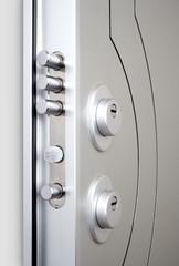 Wooden doors with lock 9