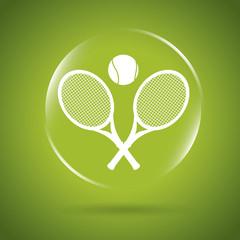 tennis icon bubble