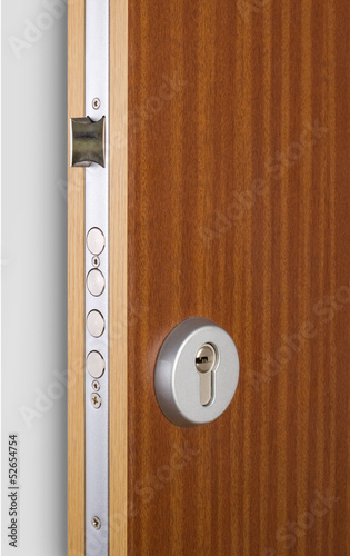 Wooden doors with lock 8