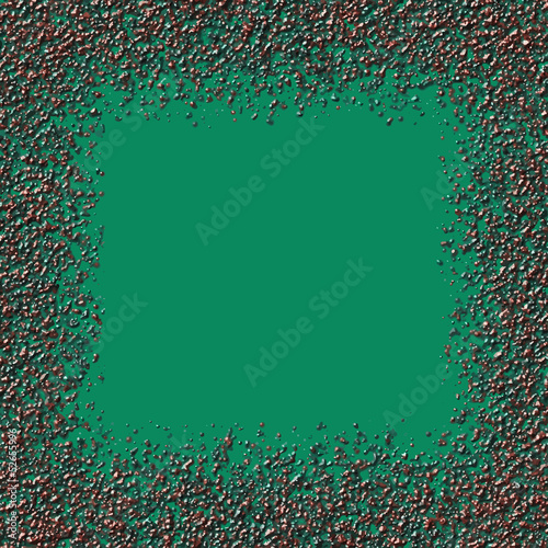 Abstract green background with granules.Vector illustration.