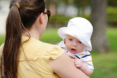 walk with baby