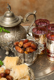 Dates and tea for Ramadan
