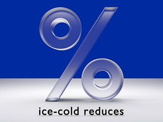 ice-cold reduces_% - 3D
