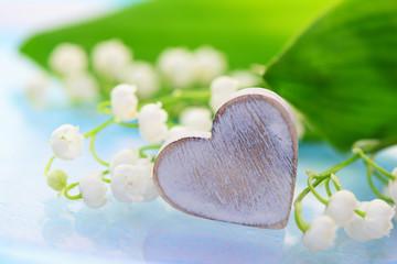 Herz,Maiglöckchen