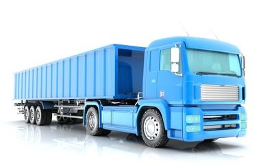 truck 3-d visualization