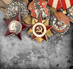 World War II Russian military medals