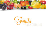 Frutta fresca Background