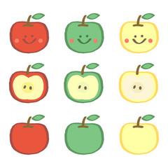 りんごのキャラクター アイコン