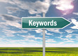 "Signpost ""Keywords"""