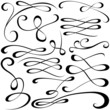 Calligraphic Elements - Vector