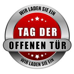 5 Star Button rot TAG DER OFFENEN TÜR WLSE WLSE