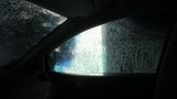 Automatic car wash. 2 cuts . Original sound