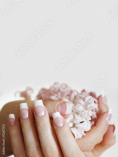 Fototapeten,nail art,nail art,französisch,fingernagel