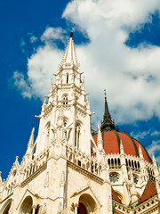 Hungarian parliament detail