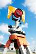 surveyor equipment target outdoors