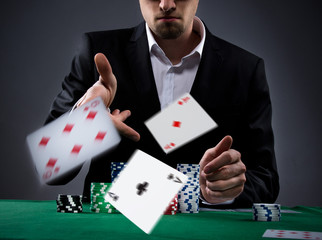 Poker player