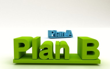3D Plan A - B Alternative di strategie
