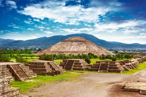 Pyramids of Mexico - 52676772