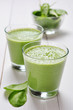 Spinach smoothies