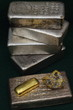 Silver & Gold Bullion Bars (Ingots) and Gold Nugget