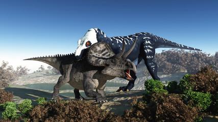 Predatory dinosaur