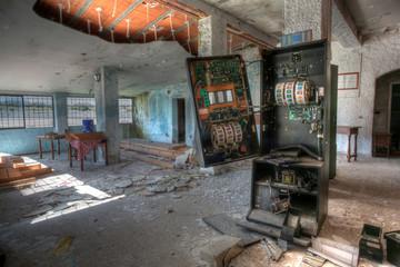 Abandoned hostel.