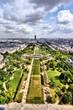 Paris, France - aerial view