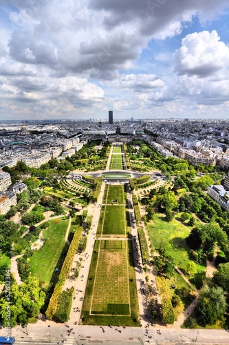 Paris, France - aerial view