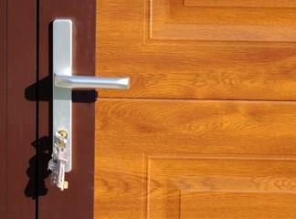концепция, текстуры, дверь, ручка,