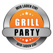 5 Star Button orange GRILLPARTY WLE WLE
