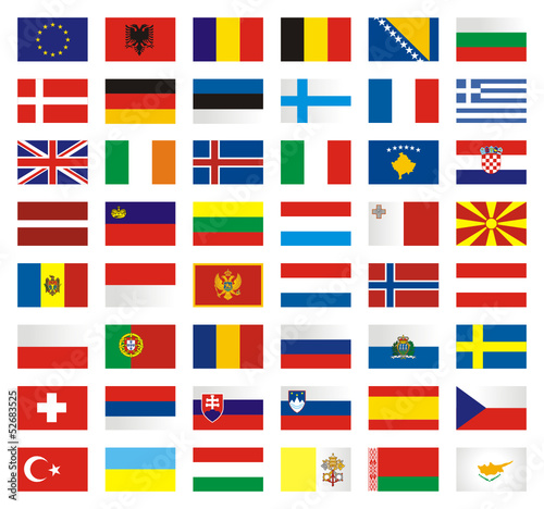 Flags Europe Set