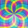 Rainbow abstract light transparent background
