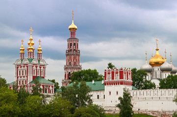 view on the Novodevichy Convent