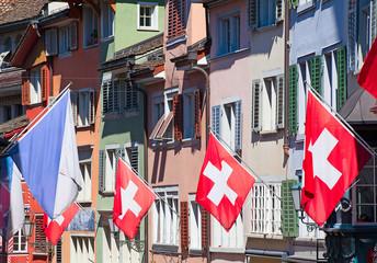 Swiss National Day in Zurich