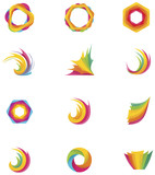 Vector abstract elements