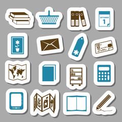 bookshop stickers
