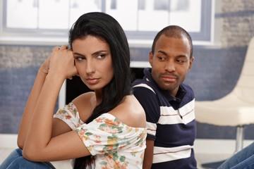 After quarrelling in relationship
