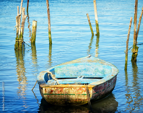 old rowboat - 52687707
