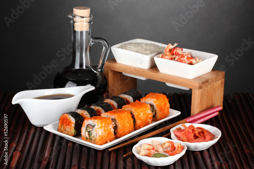 Fototapeten,sushi,soja,fisch,shrimps