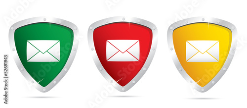 Vector mail icons